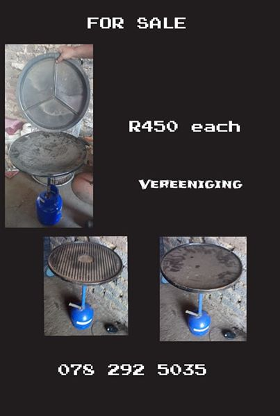 Gas braai for sale.