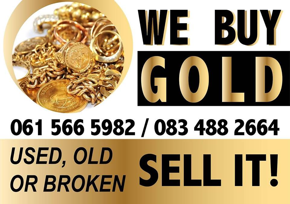 We buy gold used, old or broken.