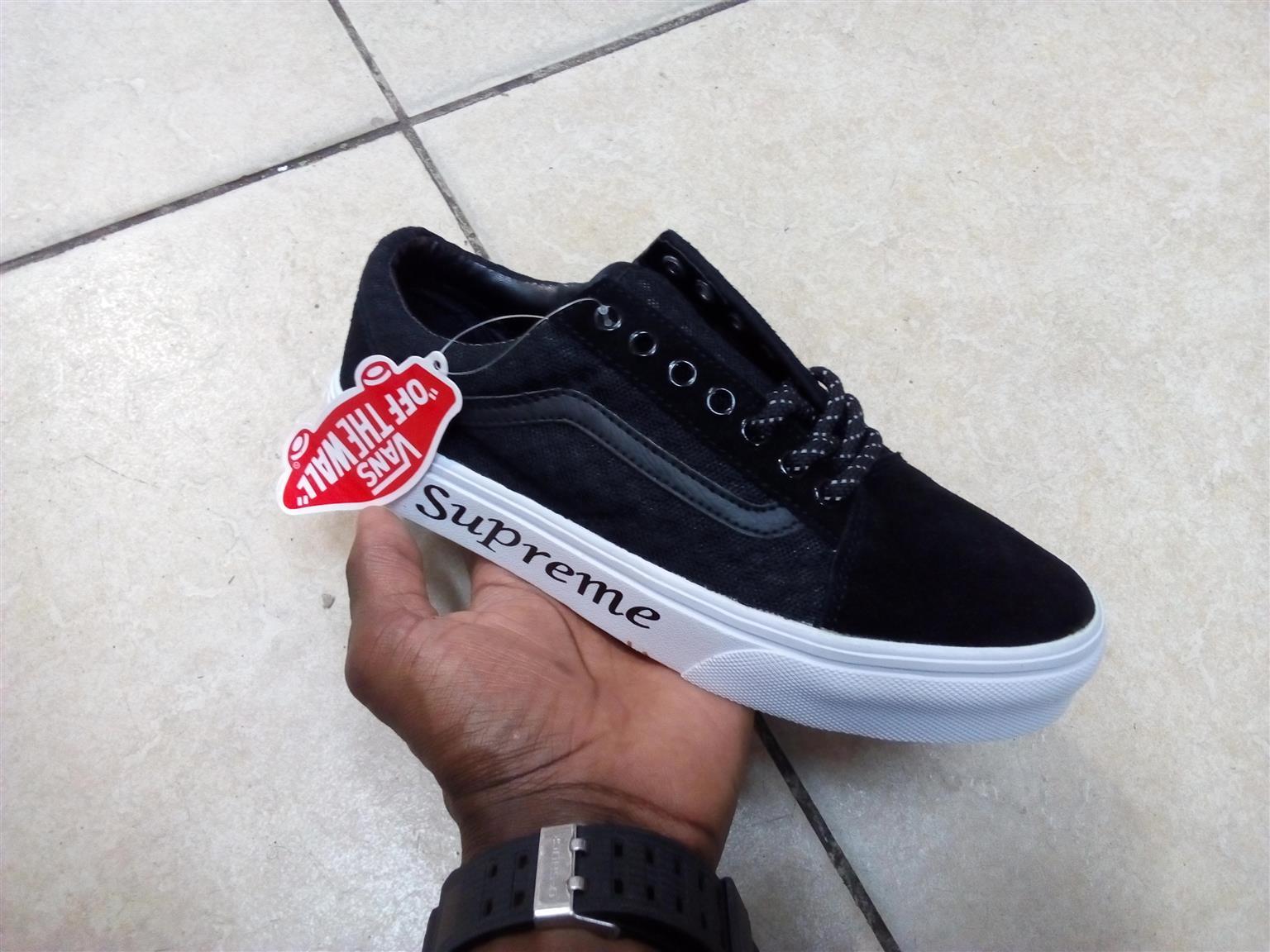 Supreme Vans Custom Sneakers