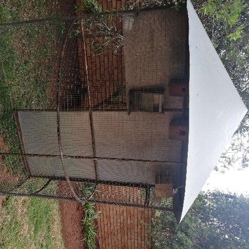 1.8m × 1.8m Half circle bird cage