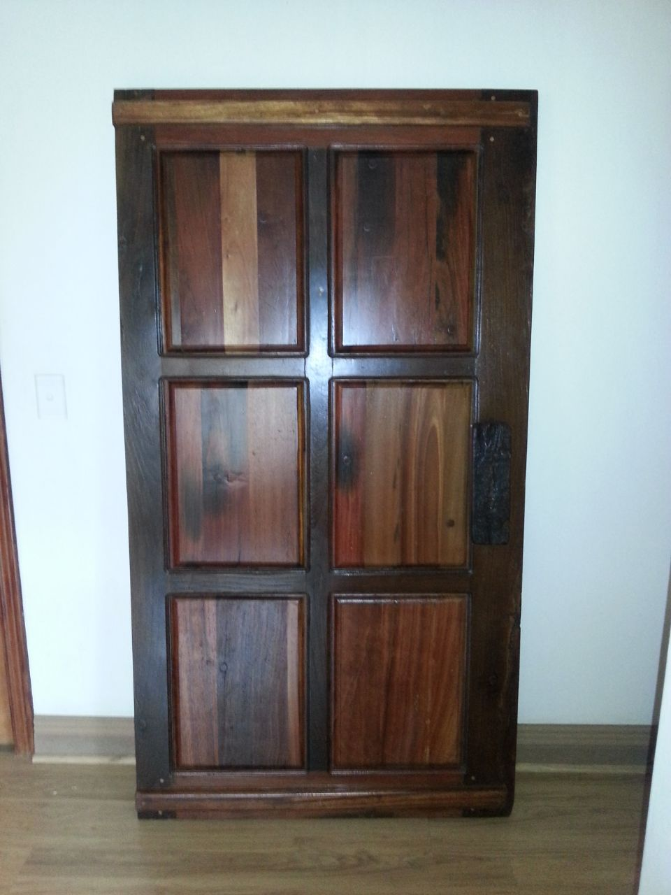 Authentic sleeperwood door