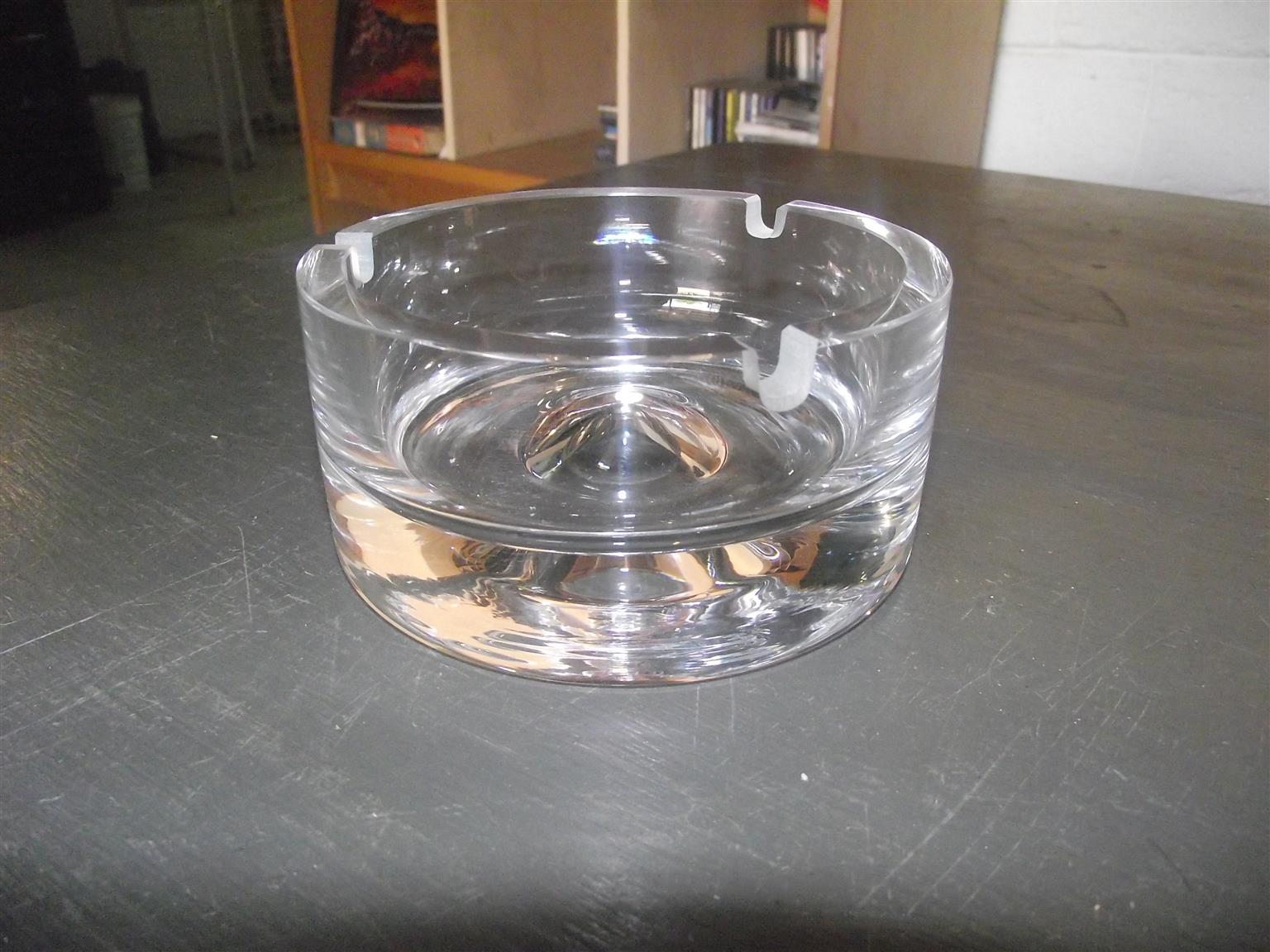 Lead Crystal Ashtrays