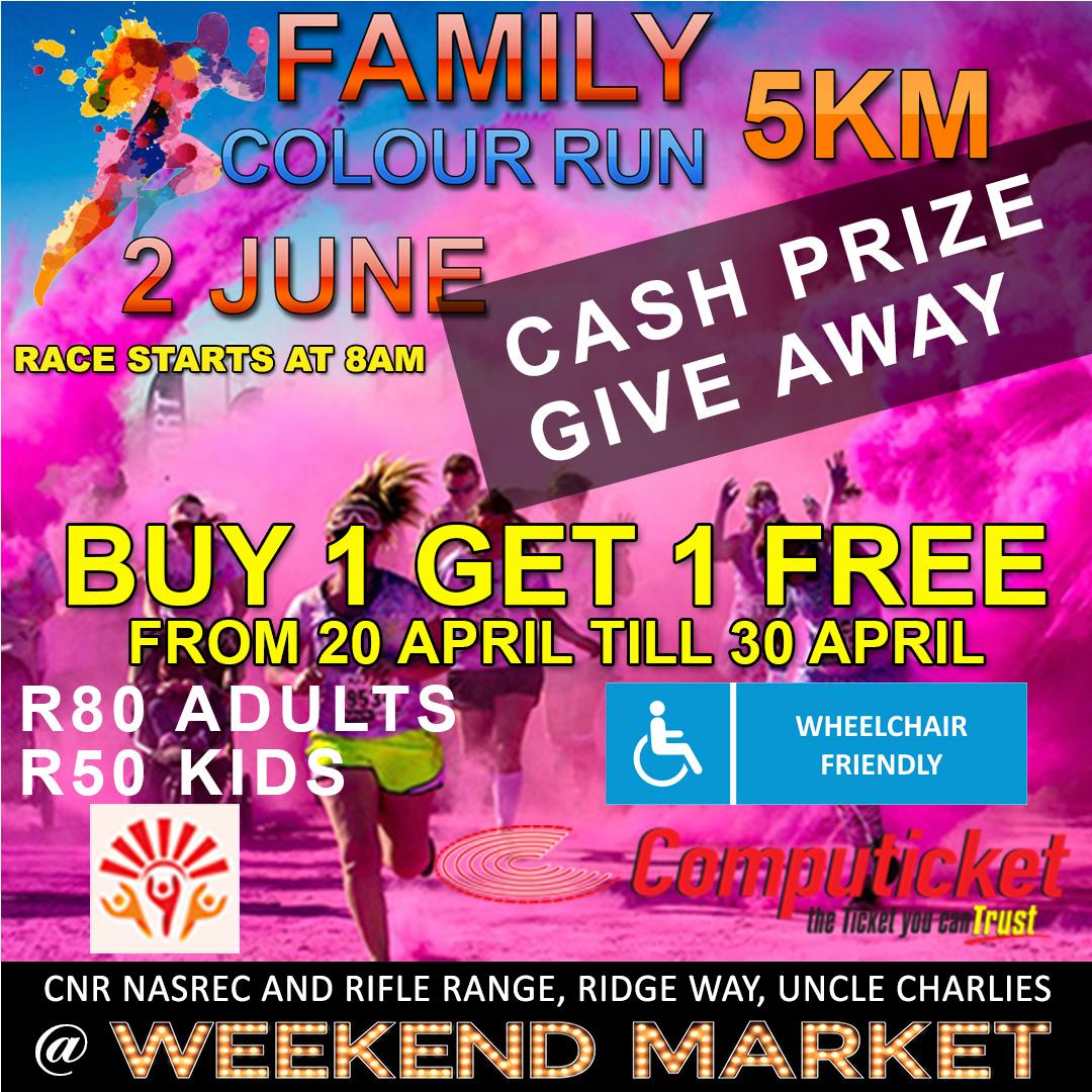 Famliy Colour Run 2 June