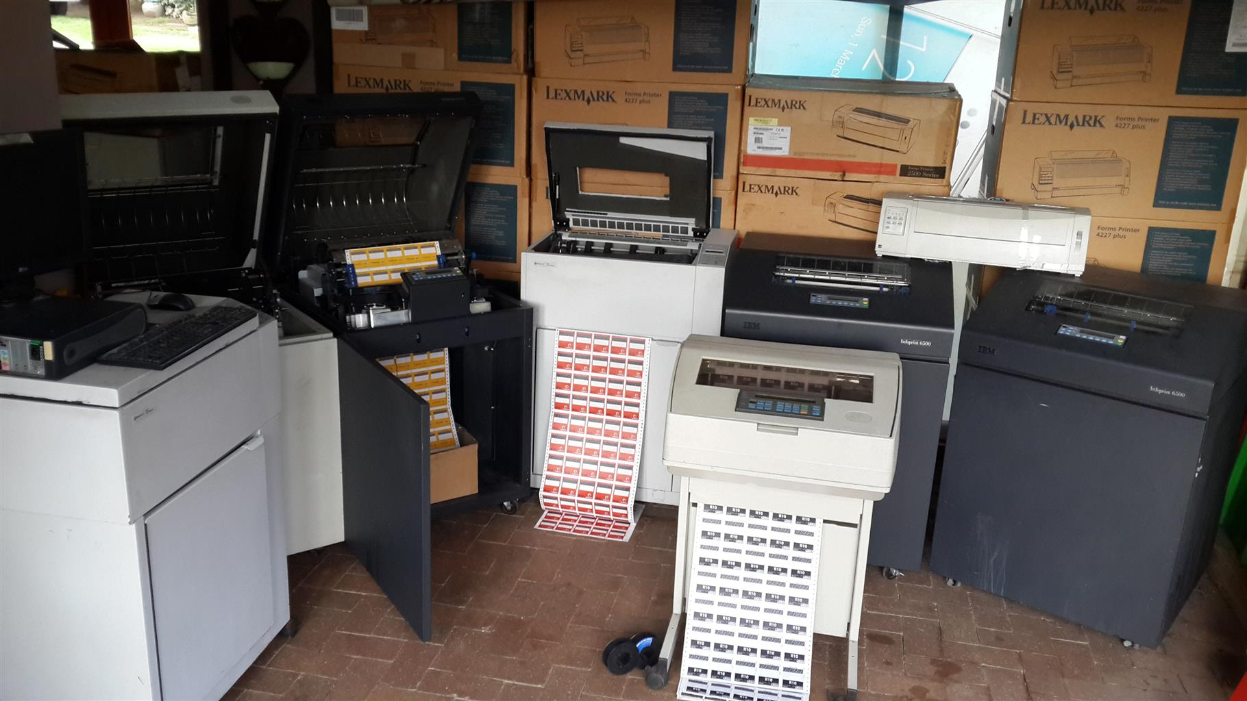 Airtime Printers for sale & service