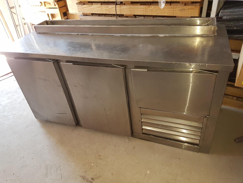 Under bar fridge 2 and a halve door