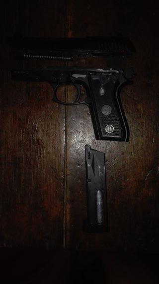 Self defense pistol