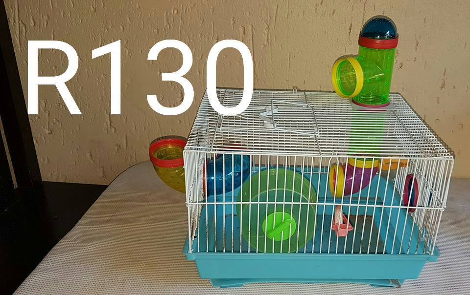 Complete hamster cage for sale