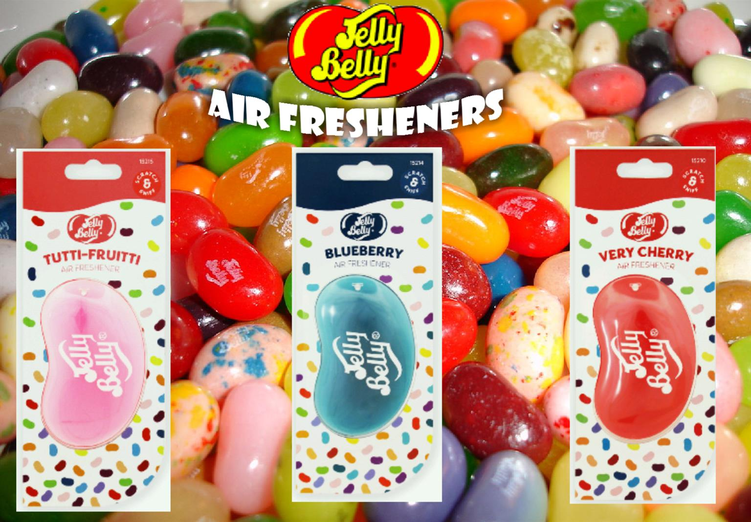 Imported Jelly Belly Air Freshners