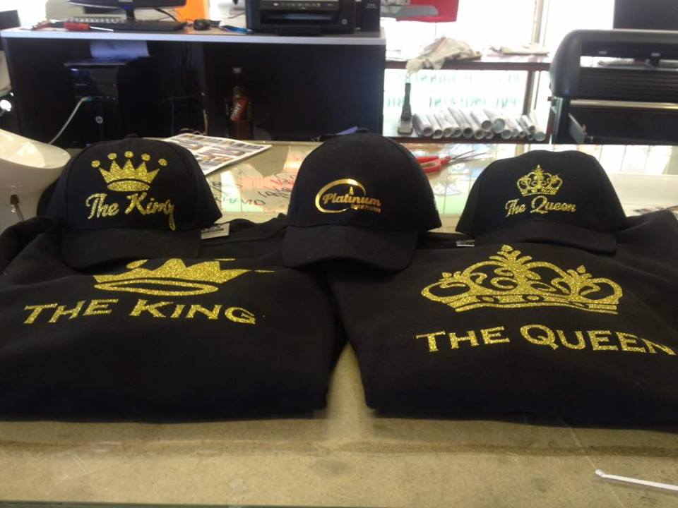 SAME DAY T SHIRT PRINTING AND 3D EMBROIDERY CALL 0110762882