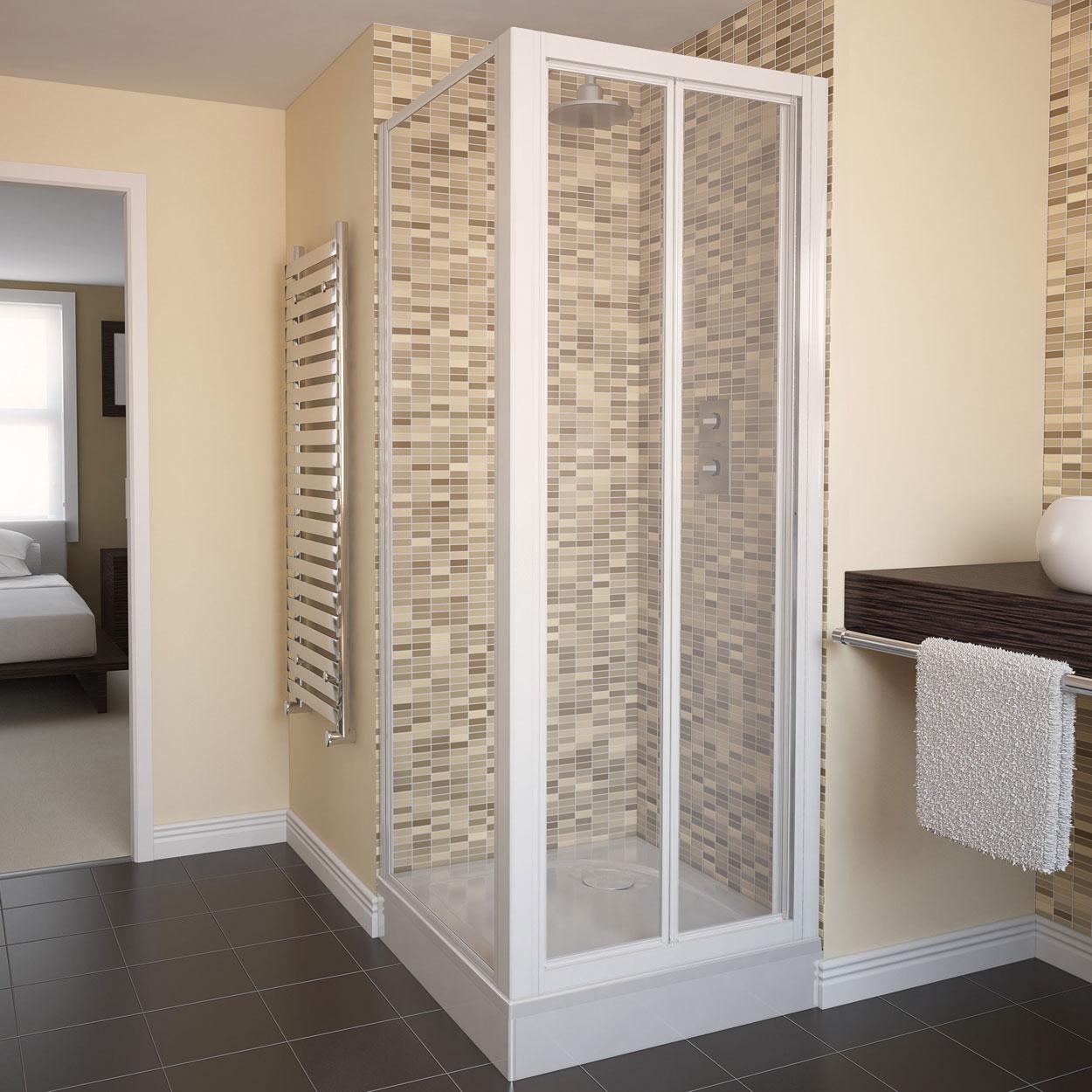 Aluminium windows, doors and showers.