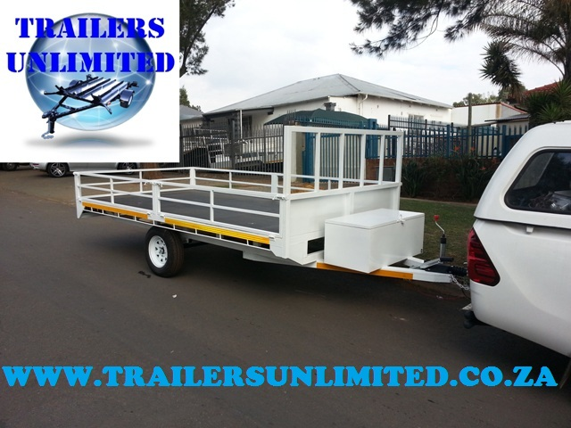 Flat Bed Trailer 3200 x 1800