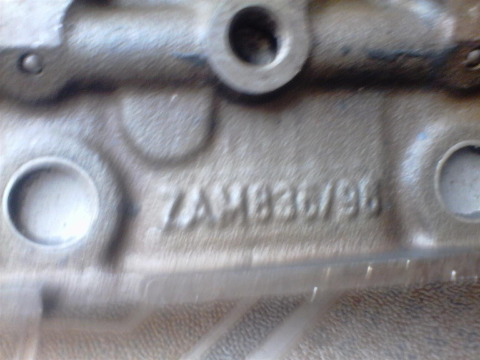 Mercedes Benz 904 Cylinder Head