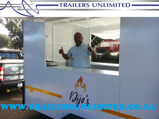 TRAILERS UNLIMITED 3000 X 1800 X 2000 CATERING TRAILER.