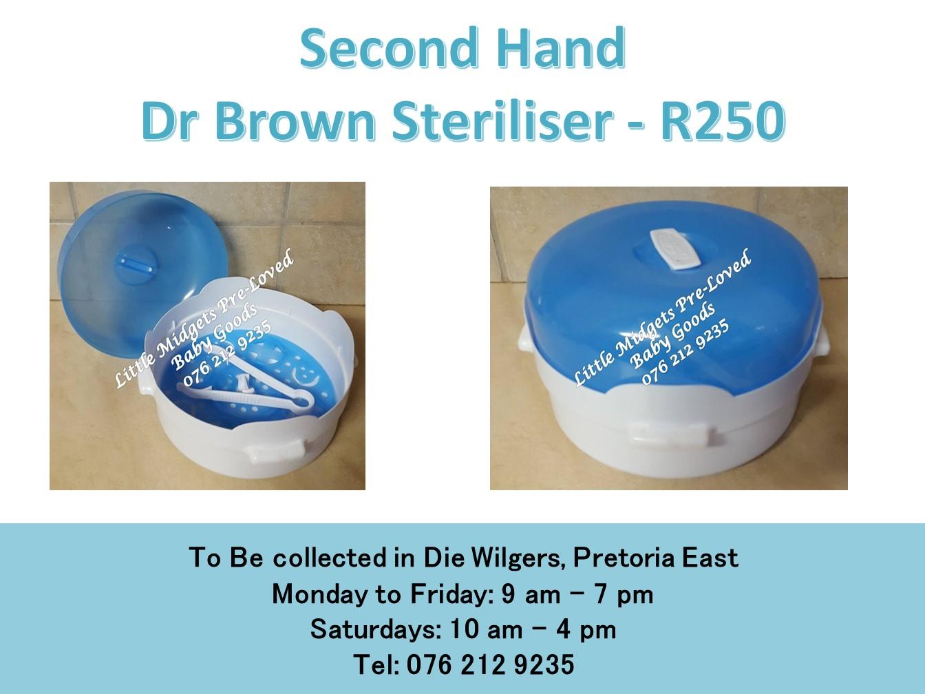 Second Hand Dr Brown Steriliser