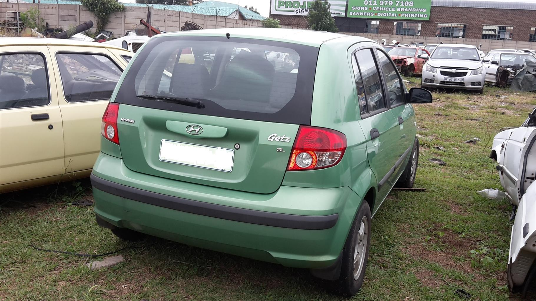 2004/5 Hyundai Getz stripping for spare parts | Junk Mail