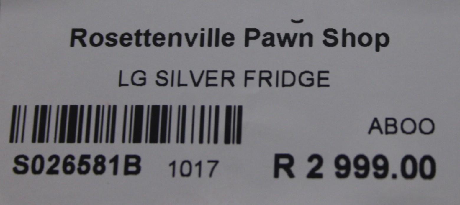 LG fridge S026581b #Rosettenvillepawnshop