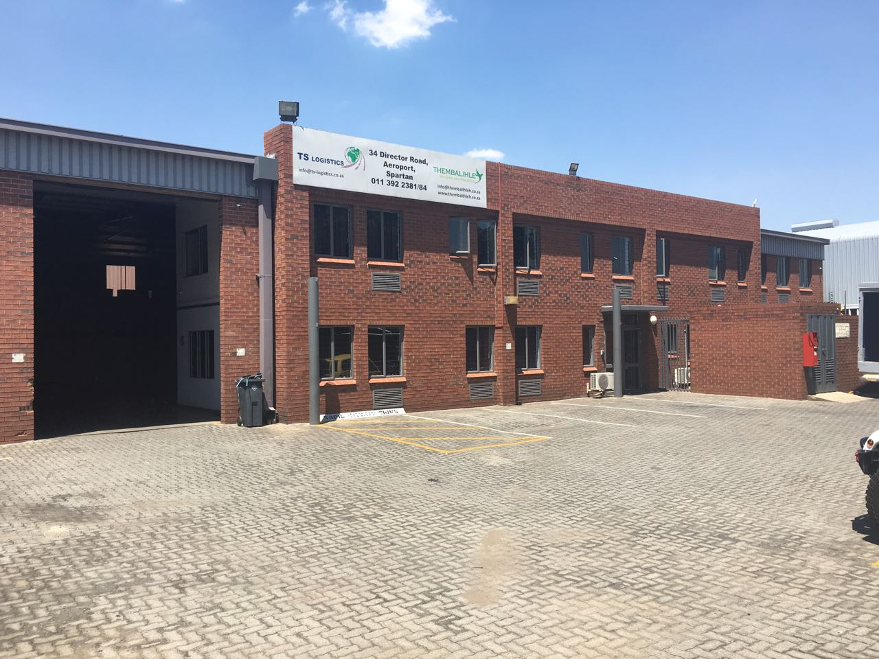 FACTORY / WAREHOUSE TO LET IN AEROPORT!