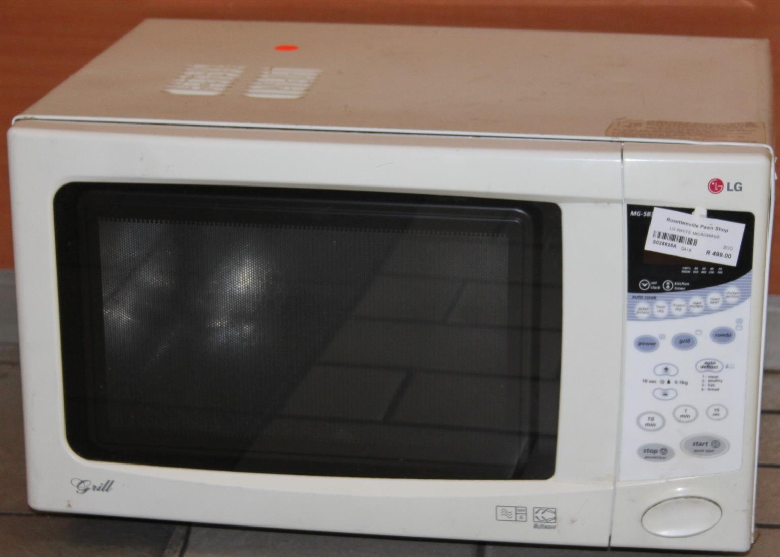 LG microwave S028925a  #Rosettenvillepawnshop