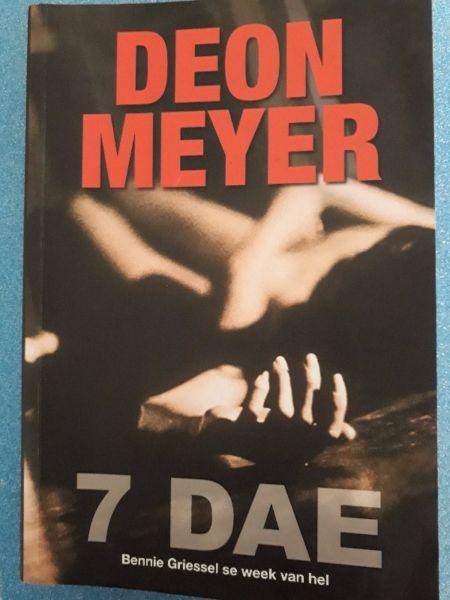 7 Dae - Deon Meyer - Bennie Griessel #3 - Eerste Uitgawe, Eerste Druk 2011.