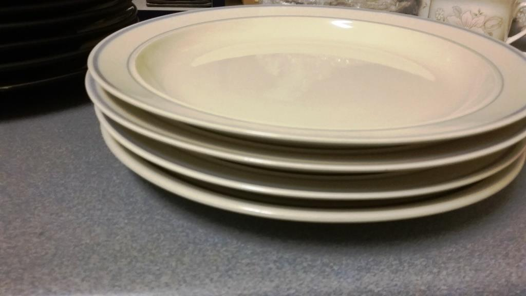 Dinner and Side Plates all for R30