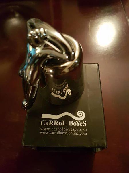 """Carroll Boyes """"At Rest"""" Bottle Stopper"""
