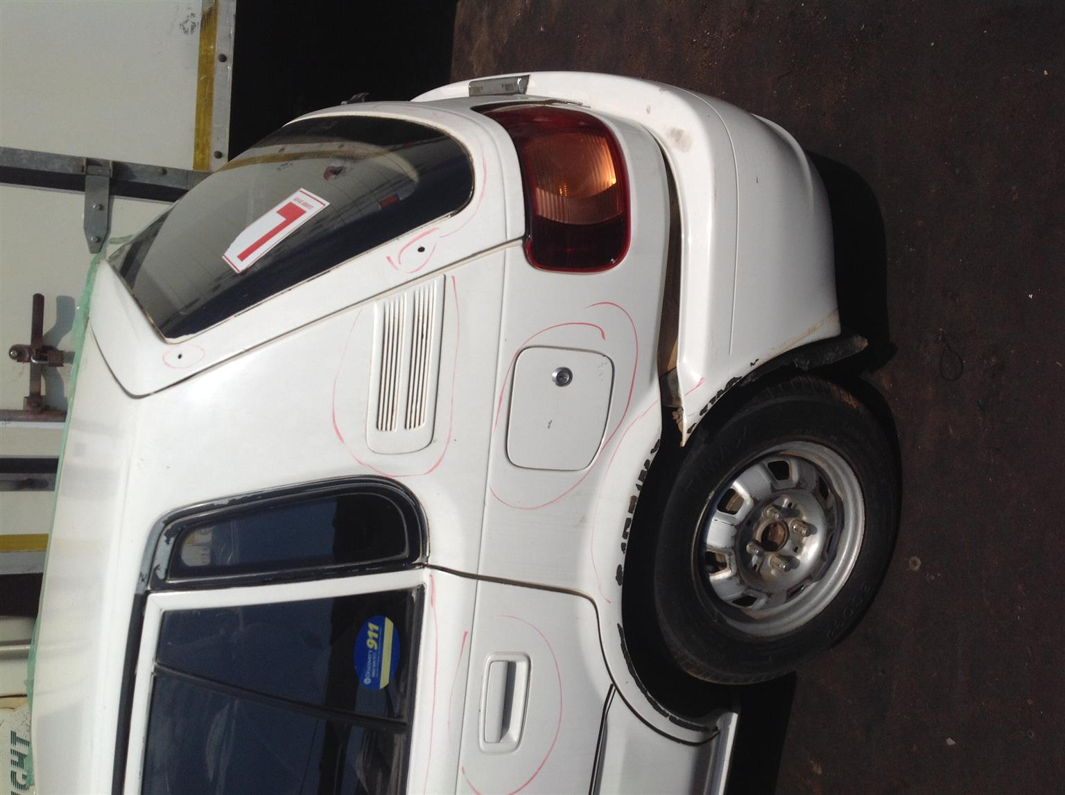 Selling Toyota Conquest 1300s 1990 for Rebuild
