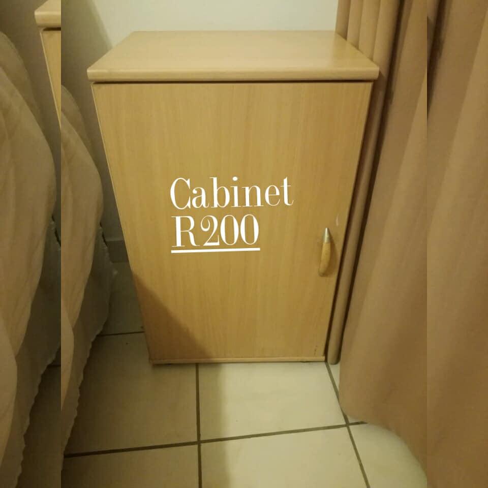 Light wooden cabinet