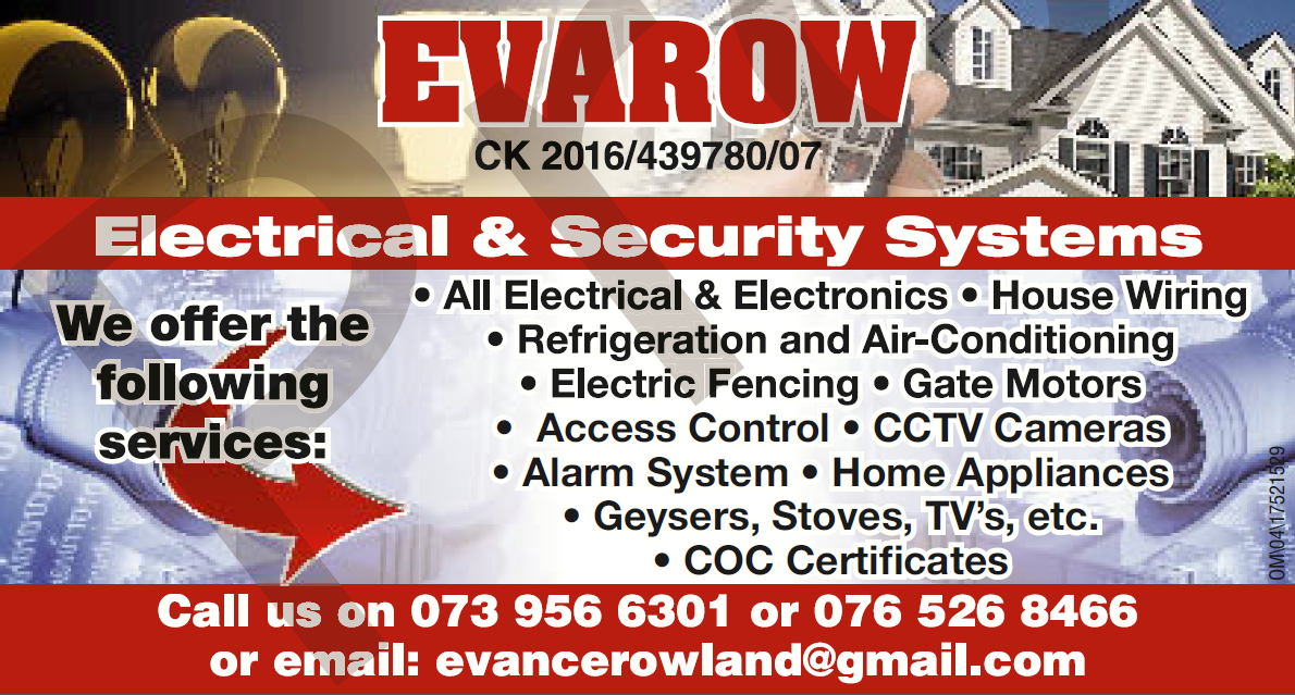 Electric and security systems