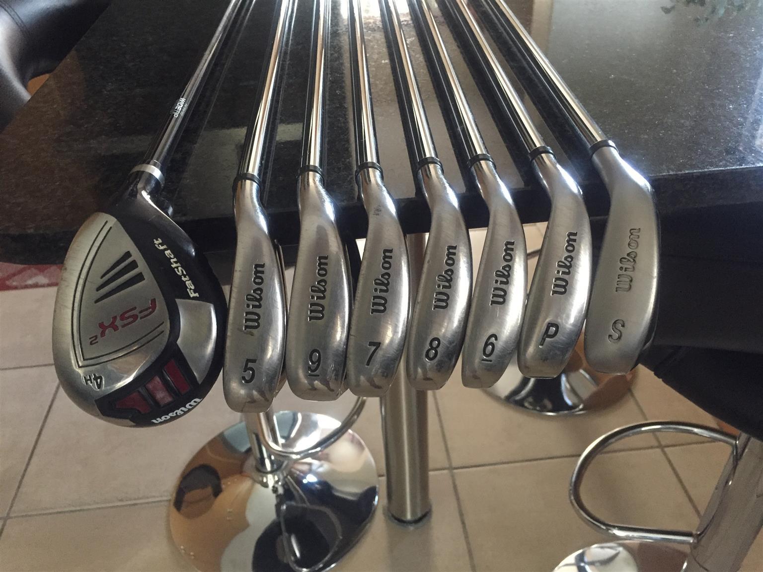 Wilson Staff FSX fat shaft golf set