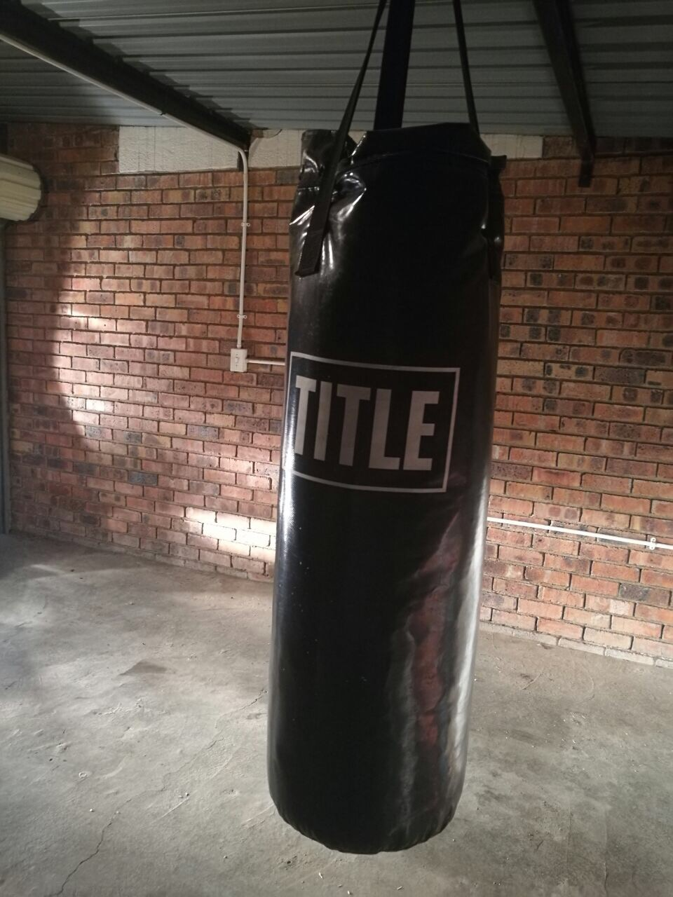 Title Punching bag