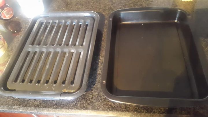 Square Oven Dishes ( black )