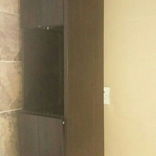 Plasma TV Unit with two cabinet doors