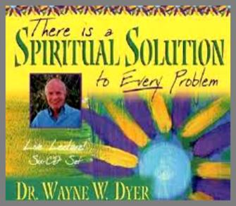 There is a Spiritual Solution to Every Problem (6 CD Live lecture set)