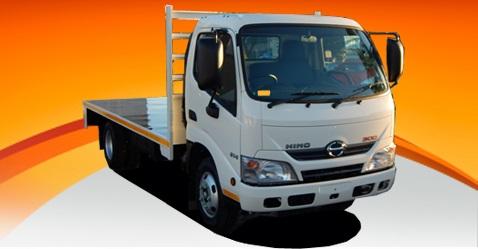 Hino 300 614 Flat Deck