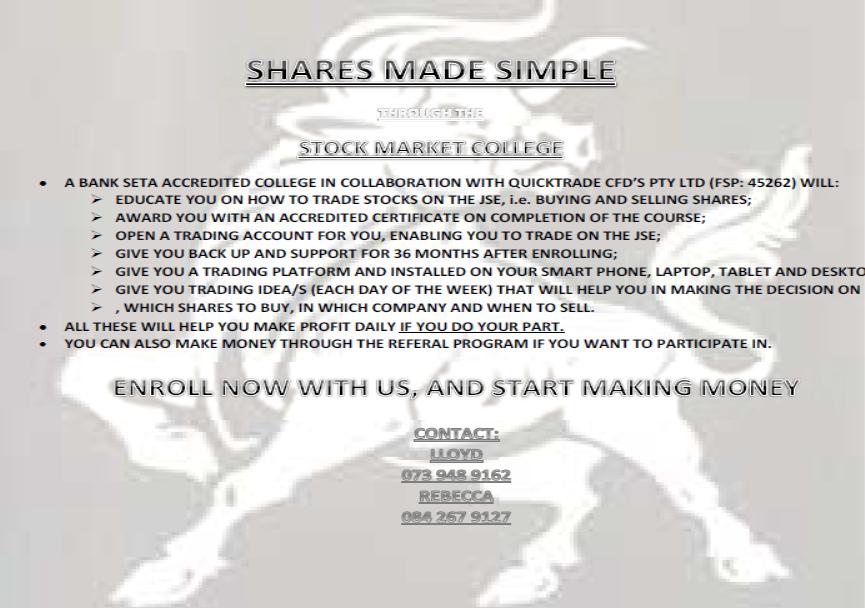 J.S.E STOCK TRADING
