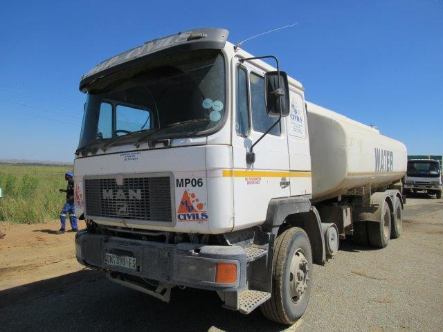 M.A.N 22 000 Litre Water Truck