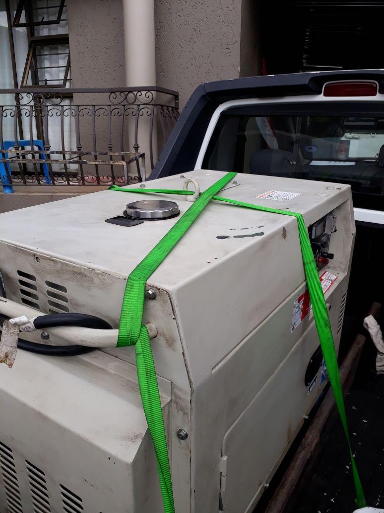 Diesel air cooled generator
