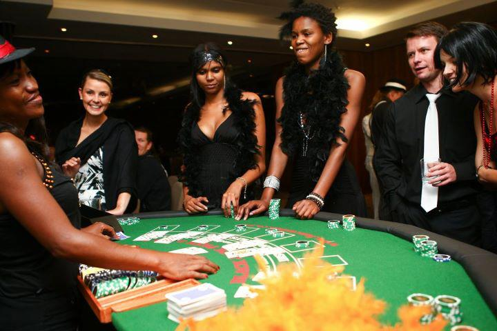 Gaming Events Fun Casino - Vegas Entertainment with live Blackjack, Poker and Roulette Tables!