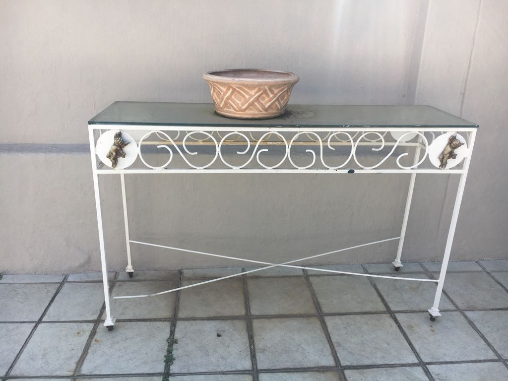 Garden side table