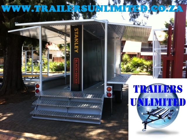 Display Trailer 3500 x 2000 x 2100