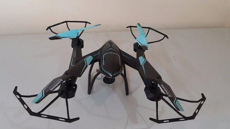 RC DRONE FOR SALE WITH HD CAMERA QUADCOPTER WITH REAL TIME VIDEO - CAMERA PHONE HOLDER -WITH APP R 1 199 For Sale