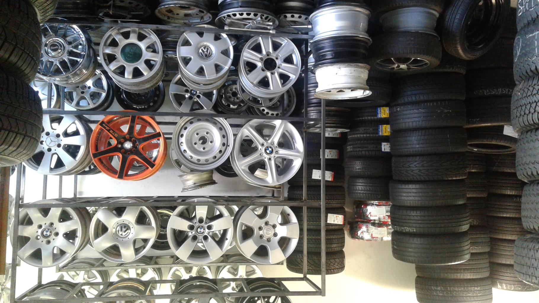 We are buying and sellin good and quality affordable secondhand tyres and new all sizes