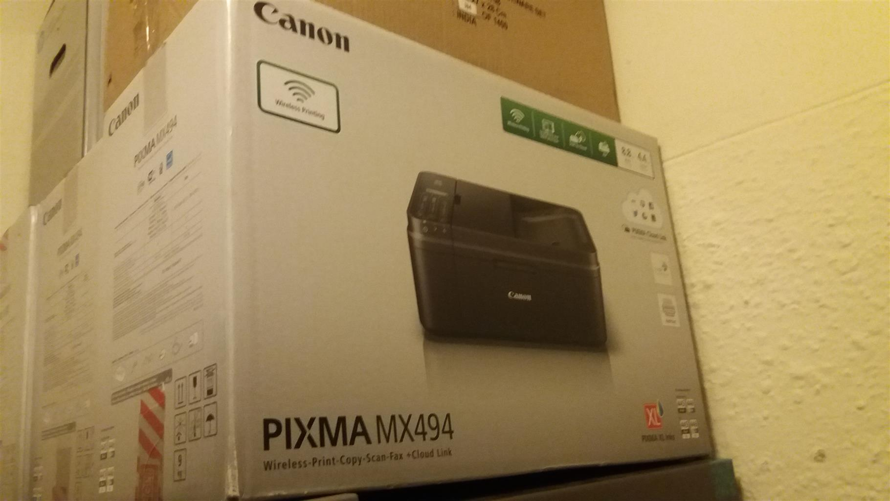 Canon Pixma MX494 Sold at Half Price