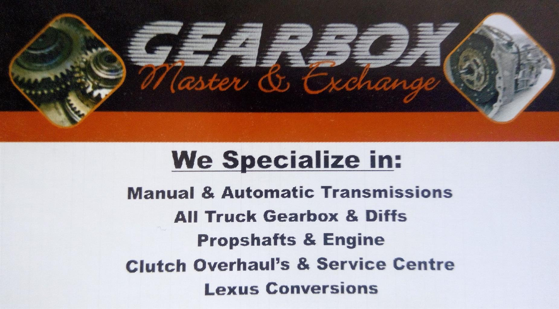 All gearbox & Transmission Needs Services & Repairs