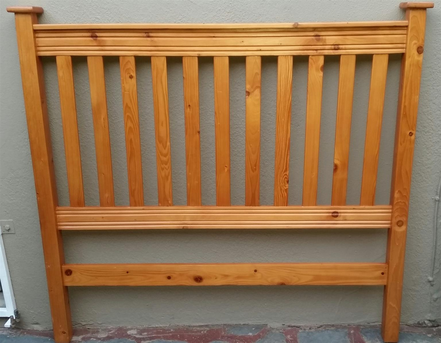 Wooden Queensize Headboard for sale