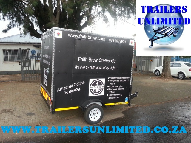 FAITH BREW ON THE GO. TRAILERS UNLIMITED.