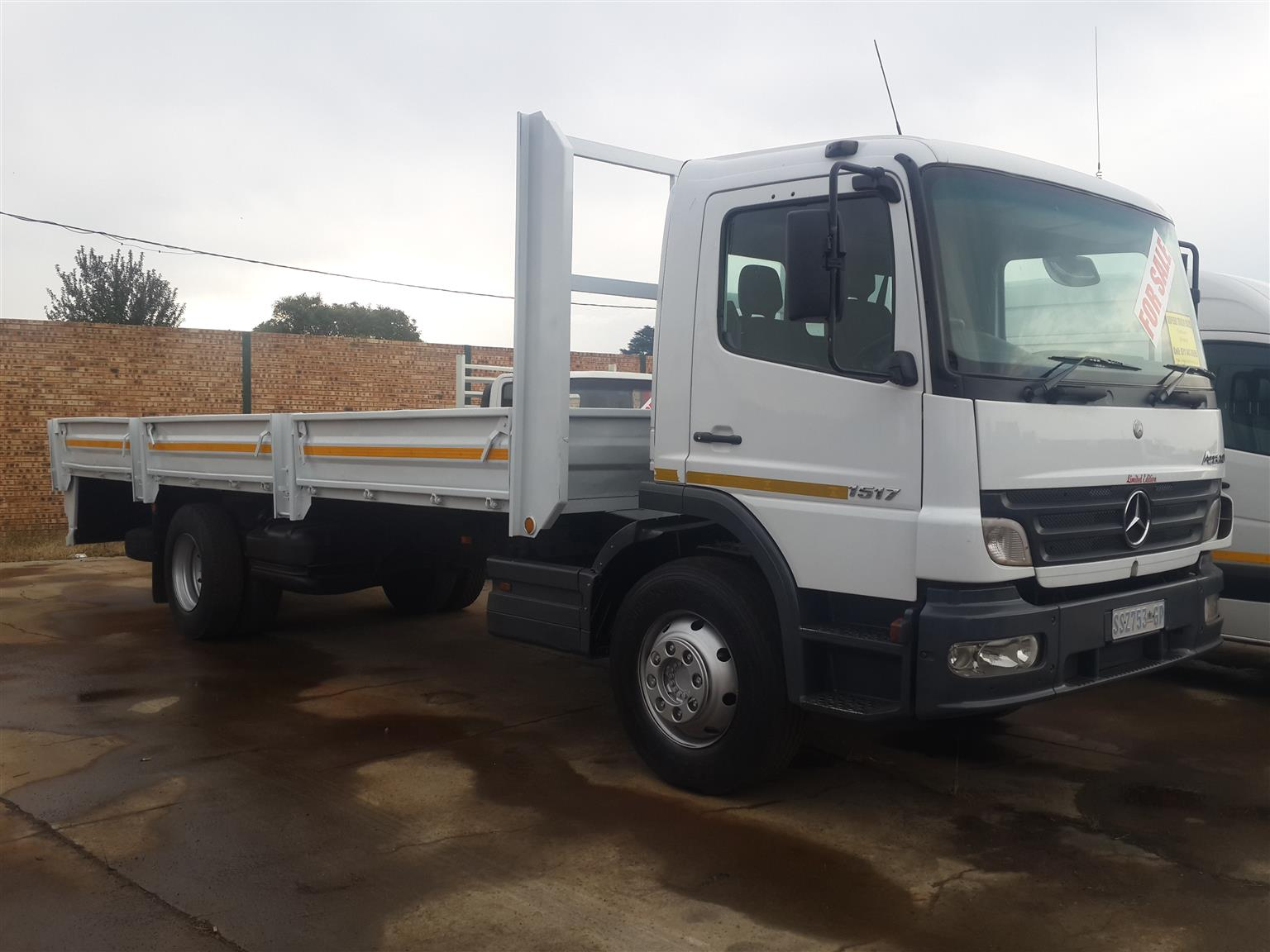 Zupełnie nowe EX FLEET MERCEDES BENZ ATEGO 8 TONNE DROPSIDE TRUCK FOR SALE LZ32