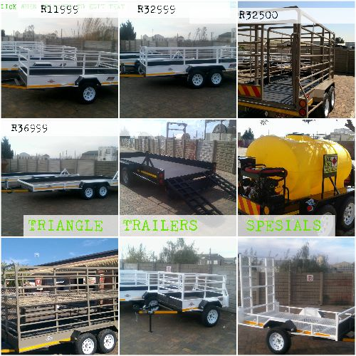 BIG SPESIALS ON ALL SIZES TRAILERS