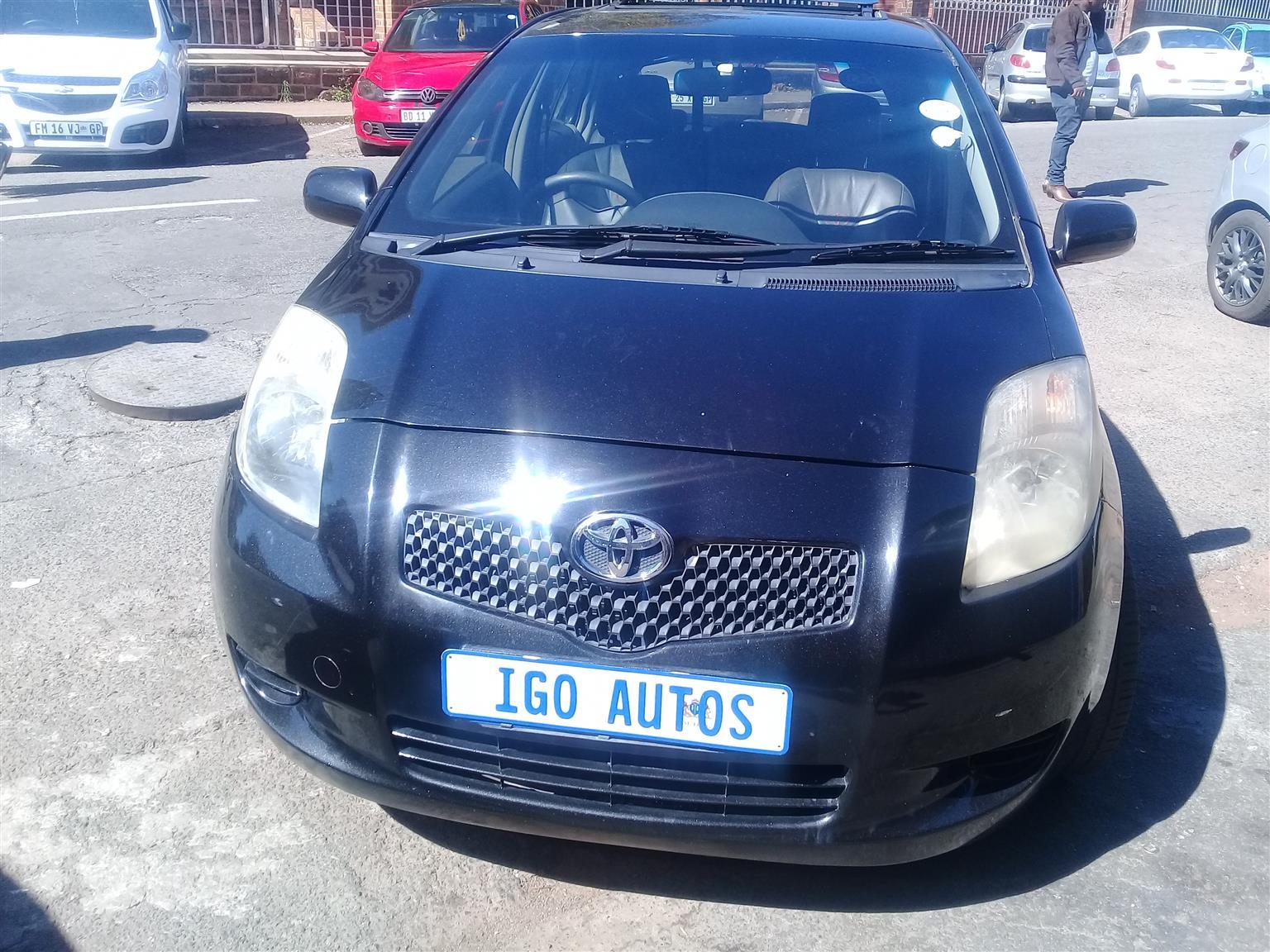 2008 Toyota Yaris 1.3 T3 5 door