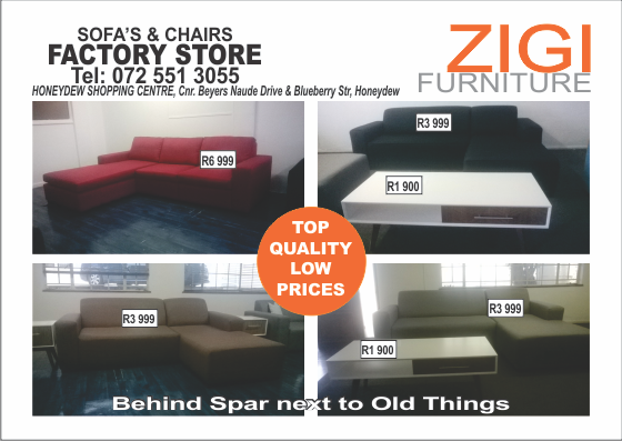 furniture factory shop in honeydew january sale junk mail